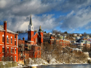 Berlin perches on the Androscoggin River