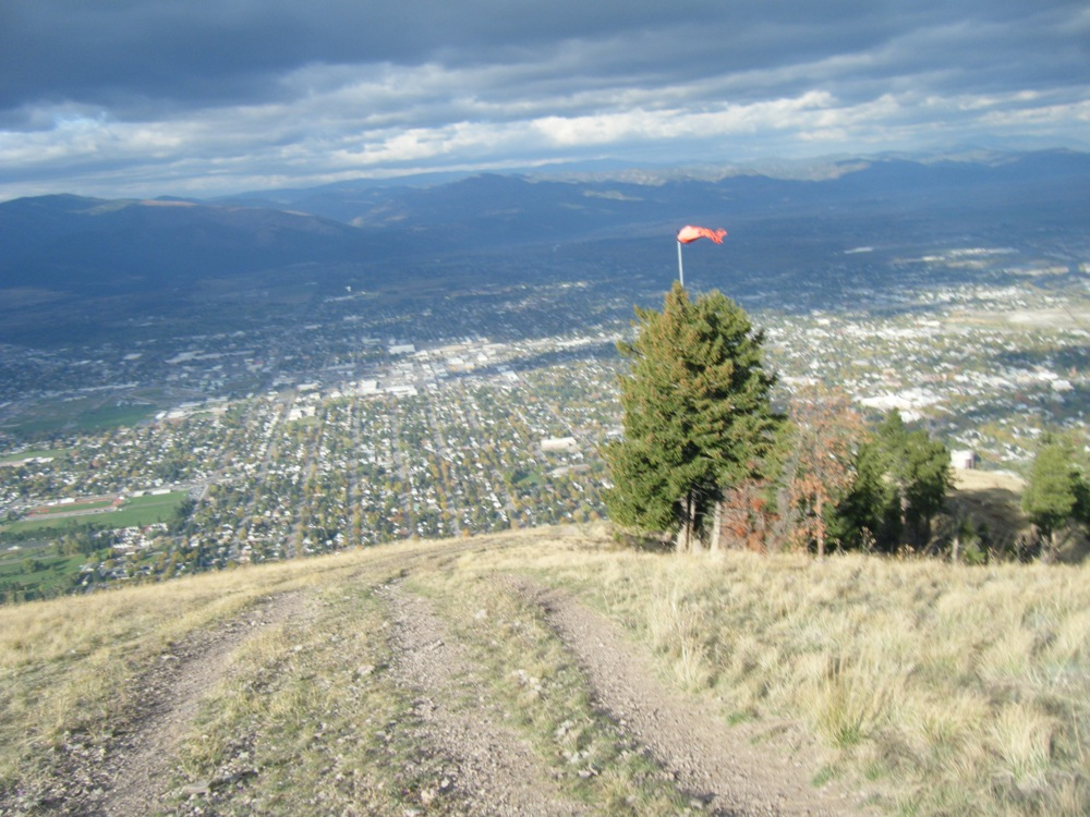 Sentinel Mountain looking over Missoula